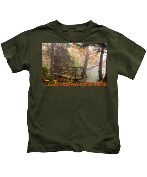 Misty Forest Kids T-Shirt