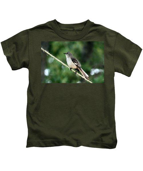 Mockingbird On Rope Kids T-Shirt