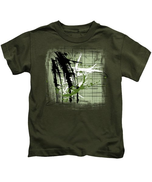 Modern Green Kids T-Shirt
