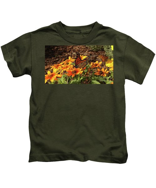 Monarch Butterflies Kids T-Shirt