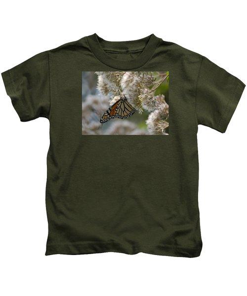 Monarch Pink Kids T-Shirt