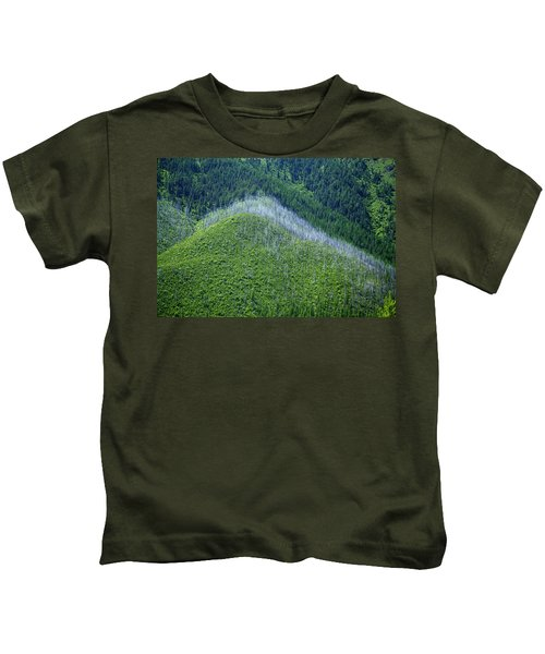 Montana Mountain Vista #4 Kids T-Shirt
