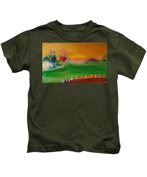 Montauk Marina Kids T-Shirt