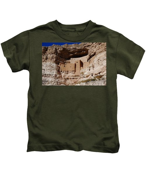 Montezuma Castle Kids T-Shirt