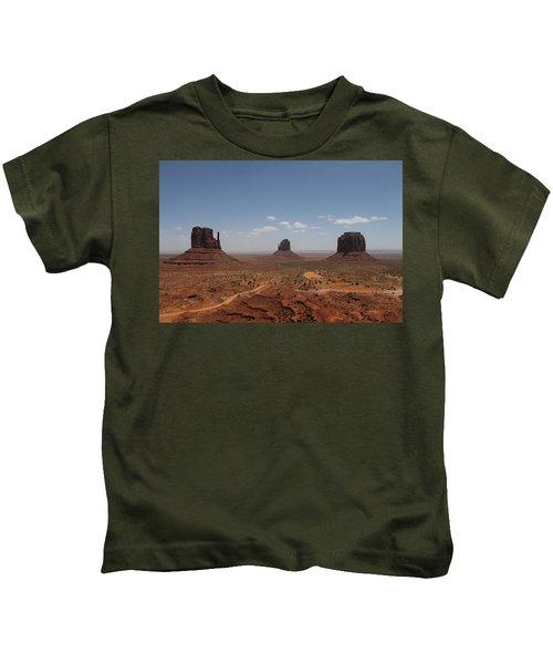 Monument Valley Navajo Park Kids T-Shirt
