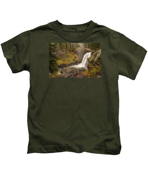 Moose Falls Kids T-Shirt