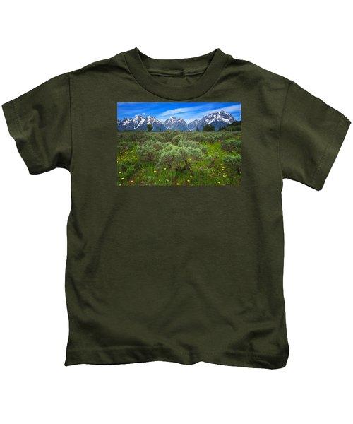 Moran Meadows Kids T-Shirt