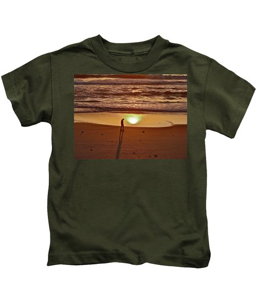 Morning Meditation Kids T-Shirt