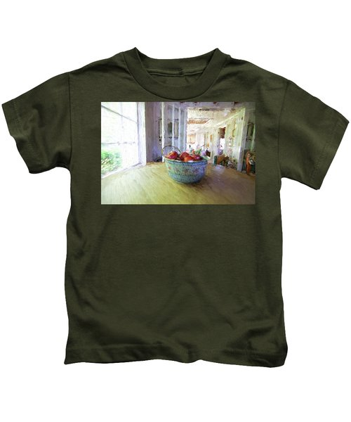 Morning On The Farm Kids T-Shirt