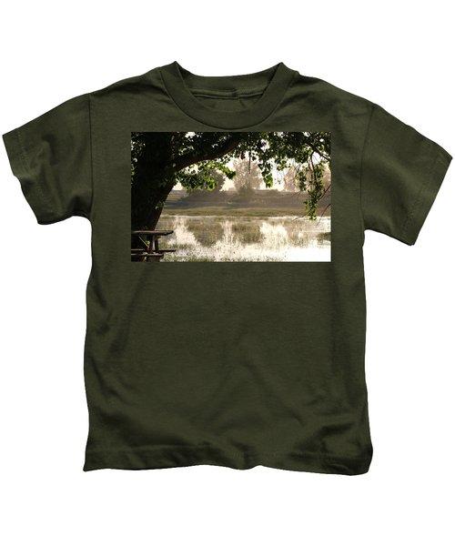 Morning Tranquility  Kids T-Shirt