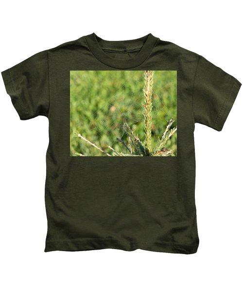 Morning Web #2 Kids T-Shirt