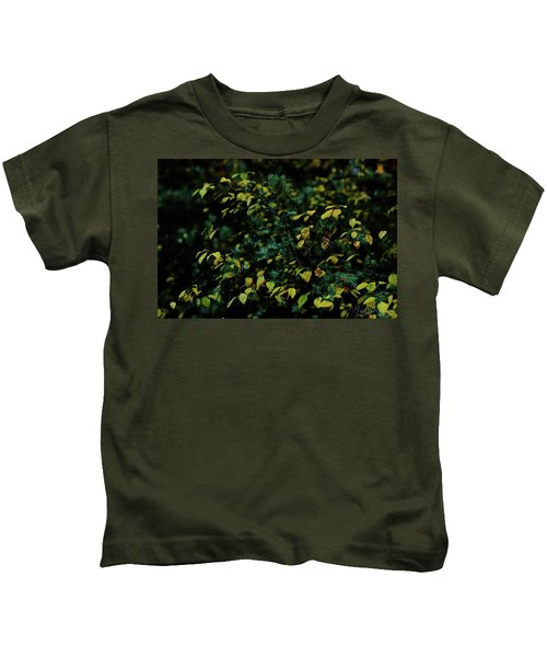 Moss In Colors Kids T-Shirt