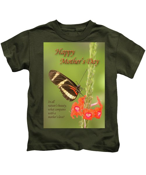 Mother's Day-butterfly Kids T-Shirt