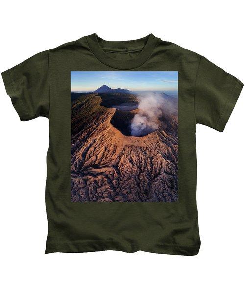 Mount Bromo At Sunrise Kids T-Shirt