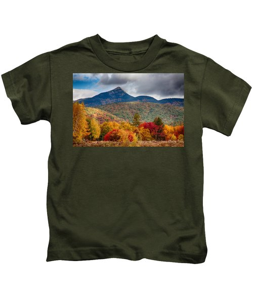 Peak Fall Colors On Mount Chocorua Kids T-Shirt