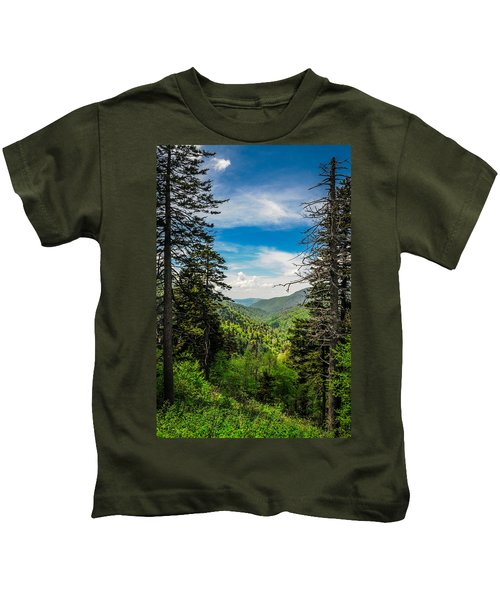 Mountain Pines Kids T-Shirt