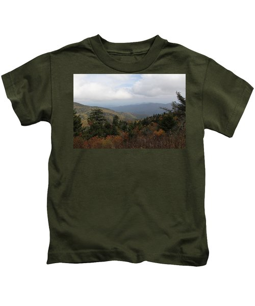 Mountain Ridge View Kids T-Shirt