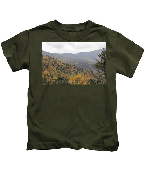 Mountain Side Long View Kids T-Shirt