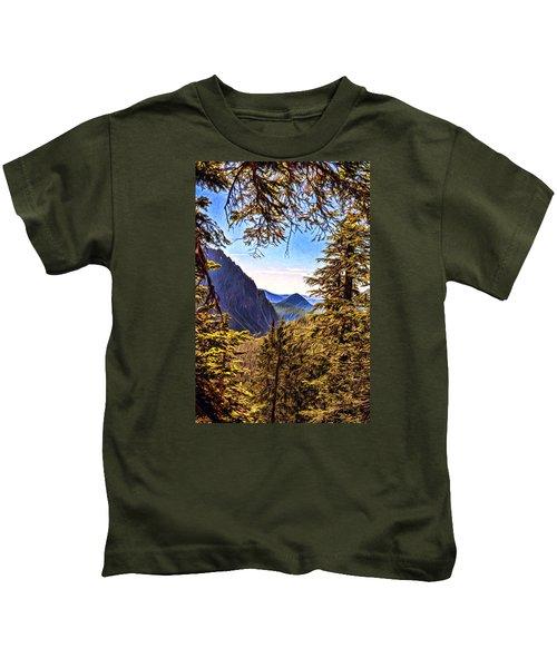 Mountain Views Kids T-Shirt