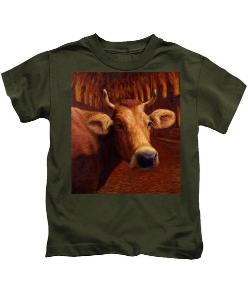 Mrs. O'leary's Cow Kids T-Shirt
