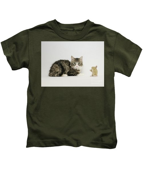 Ms Alexia And Mouse Kids T-Shirt