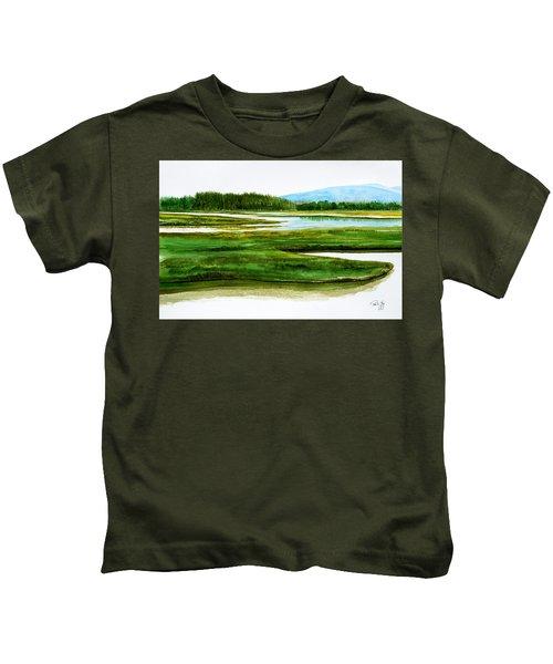 Mt Desert Island Kids T-Shirt