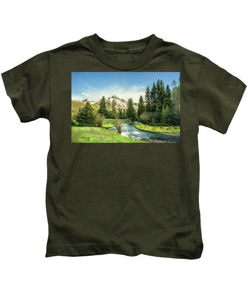 Mt. Sneffels Peak Kids T-Shirt