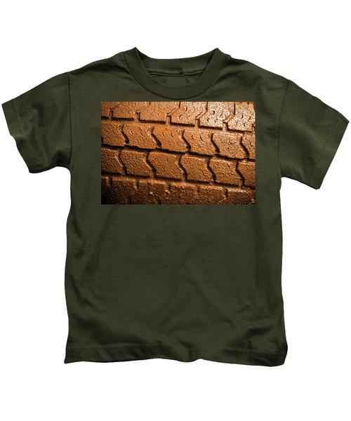 Muddy Tire Kids T-Shirt