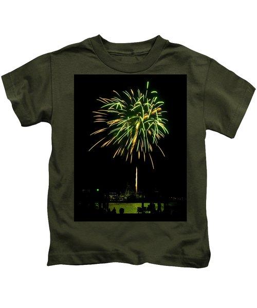 Murrells Inlet Fireworks Kids T-Shirt