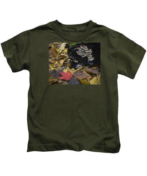 Mushrooms Kids T-Shirt