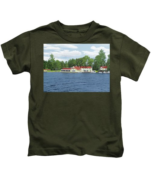 Muskoka Lakes Golf And Country Club Kids T-Shirt