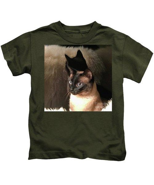 My Shadow Twin Kids T-Shirt