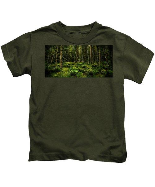 Mysterious Forest Kids T-Shirt