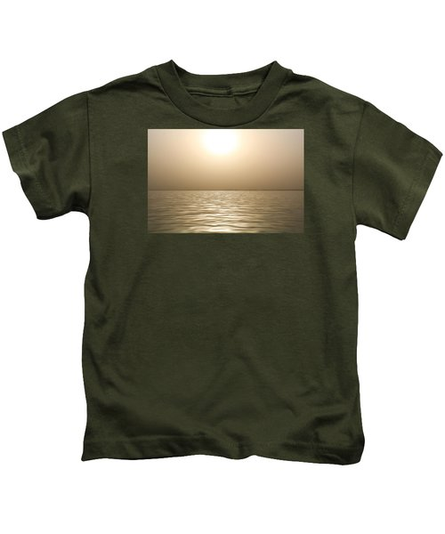 Mystery Sandstorm Sunset- The Red Sea Kids T-Shirt