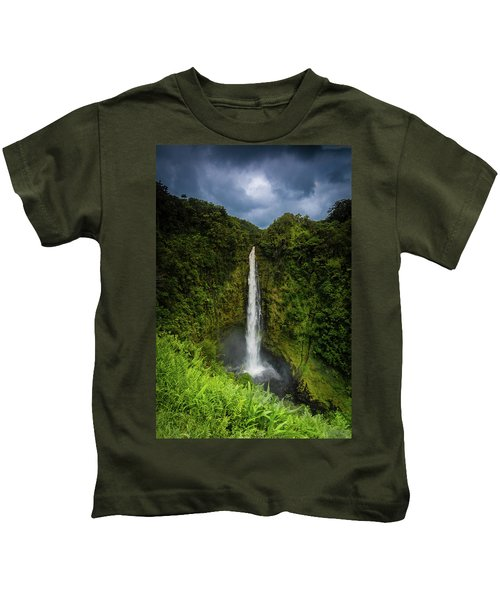 Mystic Waterfall Kids T-Shirt