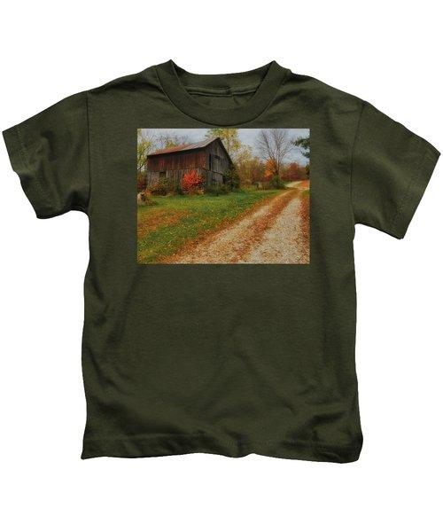 Mystical Country Lane  Kids T-Shirt