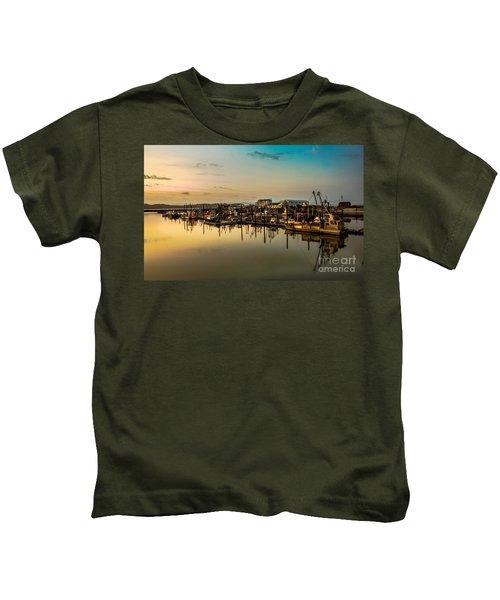 Nahcotta Boat Basin Kids T-Shirt