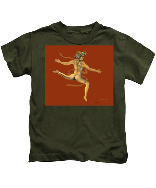 Naked Dancer Kids T-Shirt
