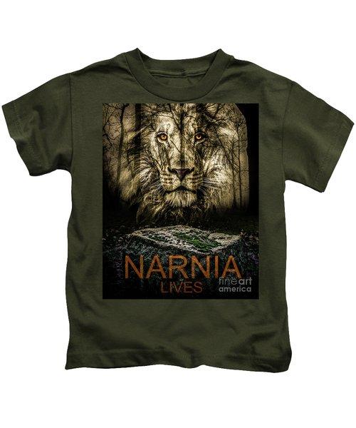 Narnia Lives Kids T-Shirt