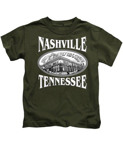 Nashville Tennessee Design Kids T-Shirt