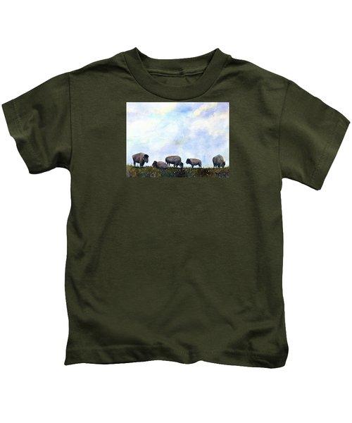 National Treasure - Bison Kids T-Shirt