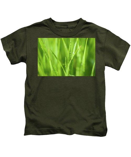 Native Prairie Grasses Kids T-Shirt