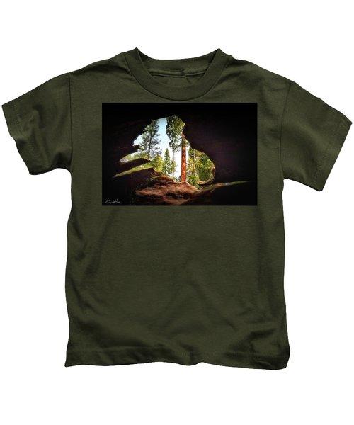 Natural Window Kids T-Shirt