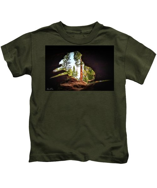 Natural Window Kids T-Shirt