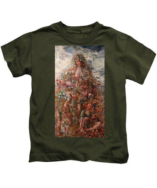 Nature Or Abundance Kids T-Shirt