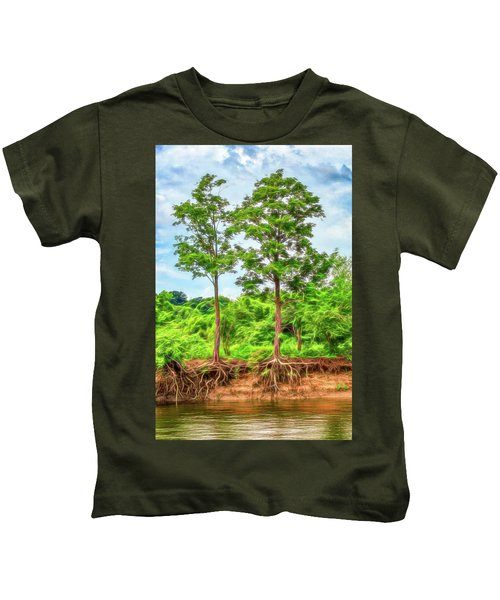 Nature's Electricity Kids T-Shirt
