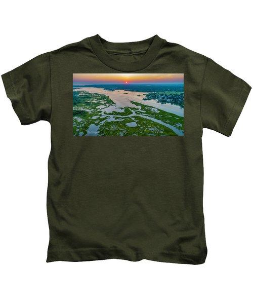 Natures Hidden Lines Kids T-Shirt