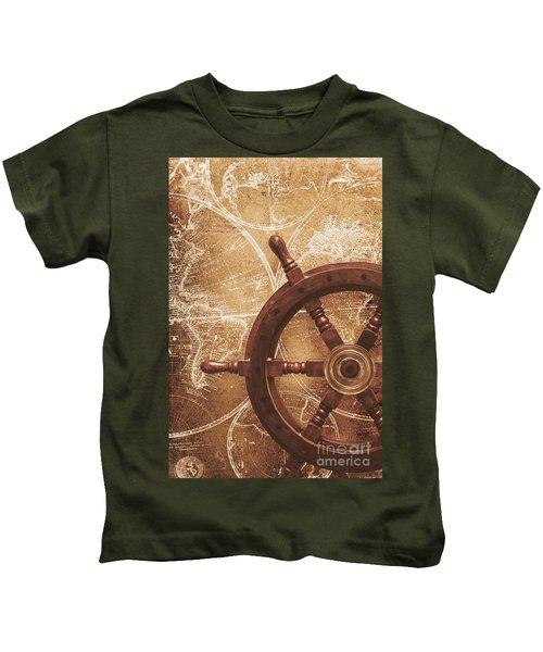 Nautical Exploration  Kids T-Shirt
