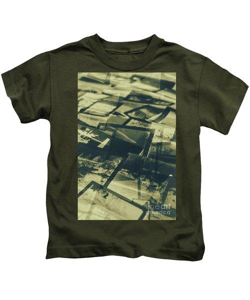 Negative Photos In Dark Room Kids T-Shirt