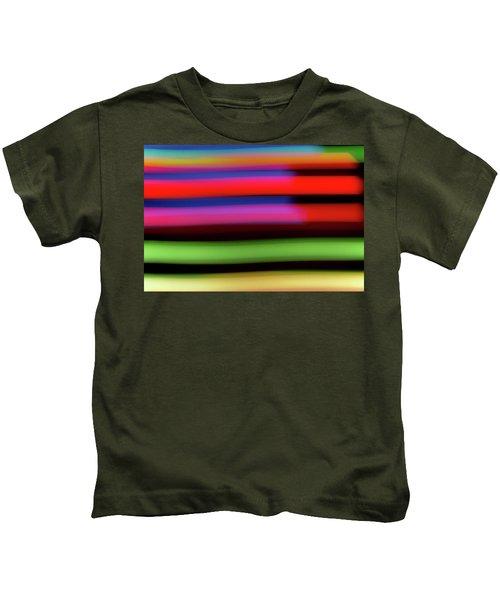 Neon Stripe Kids T-Shirt